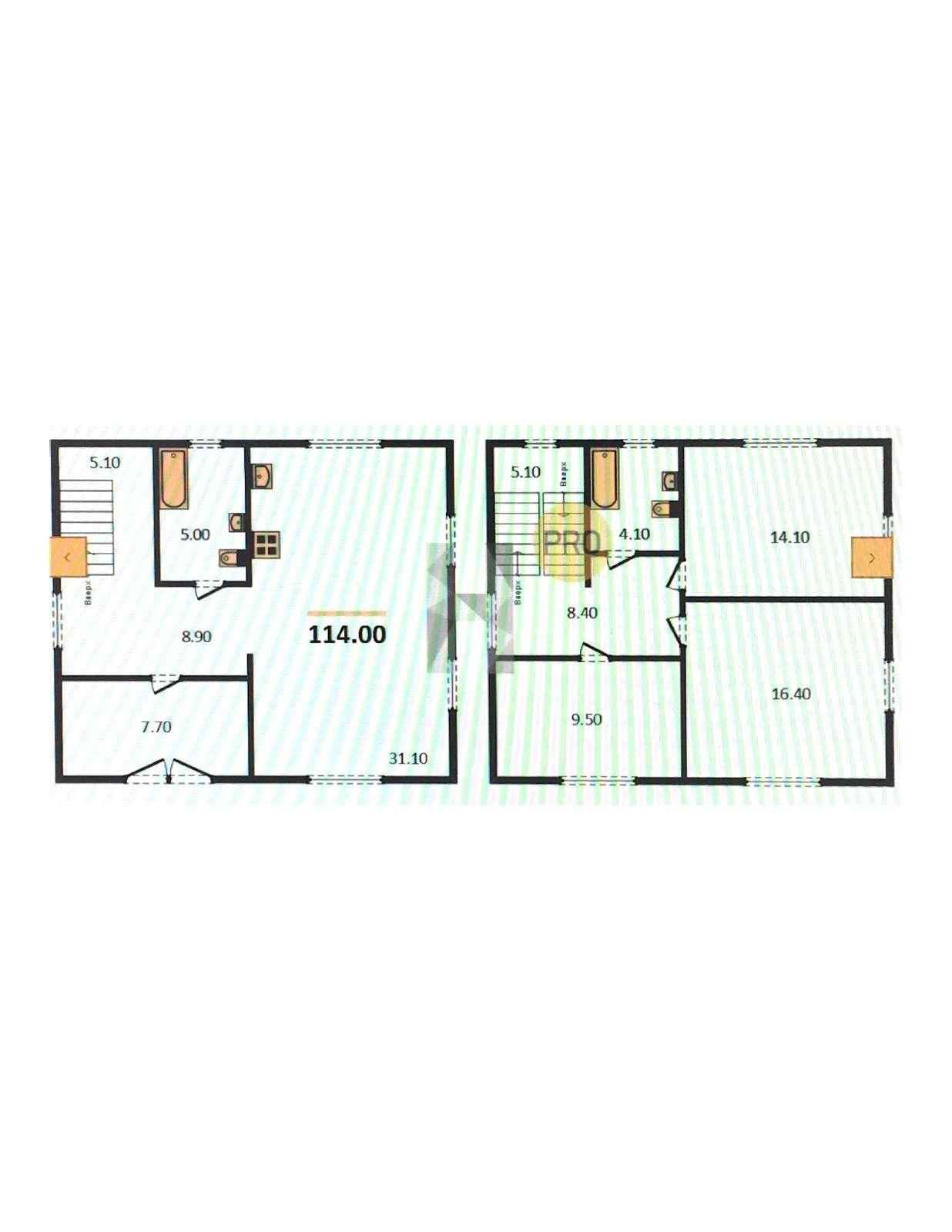 Продаётся  дом/дача 114.0 кв.м.  за 2 600 000 руб