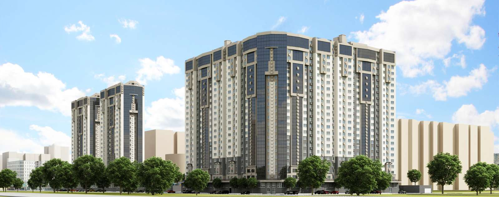 Продаётся 2-комнатная квартира в новостройке 65.3 кв.м. этаж 11/23 за 4 700 000 руб