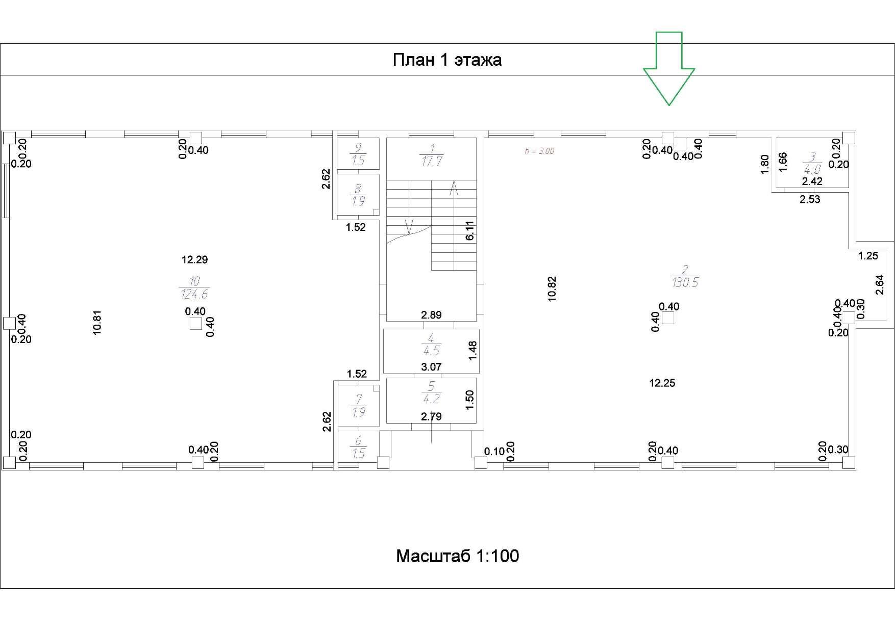 Сдаётся  квартира со свободной планировкой 135.0 кв.м. этаж 2/3 за 74 250 руб