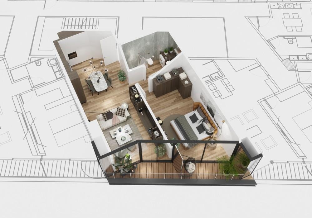 Продаётся  квартира 40.0 кв.м.  за 148 000 EUR