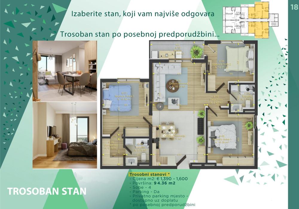 Продаётся  квартира 35.0 кв.м.  за 47 019 EUR