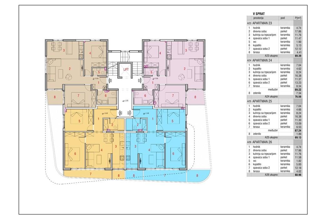 Продаётся  квартира 29.0 кв.м.  за 95 700 EUR