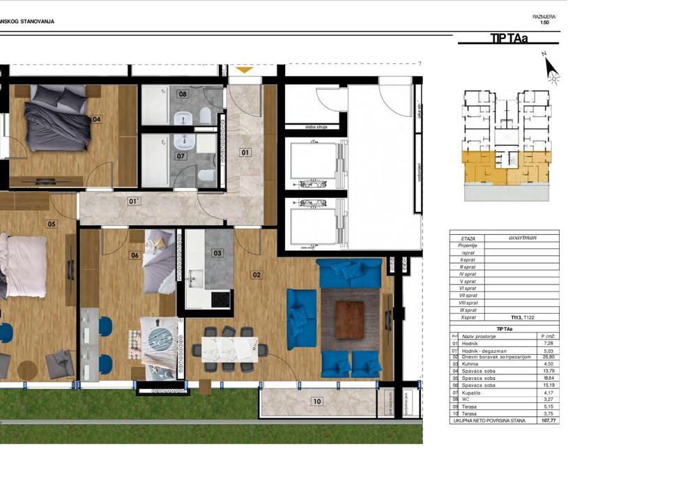 Продаётся  квартира 31.0 кв.м.  за 47 505 EUR
