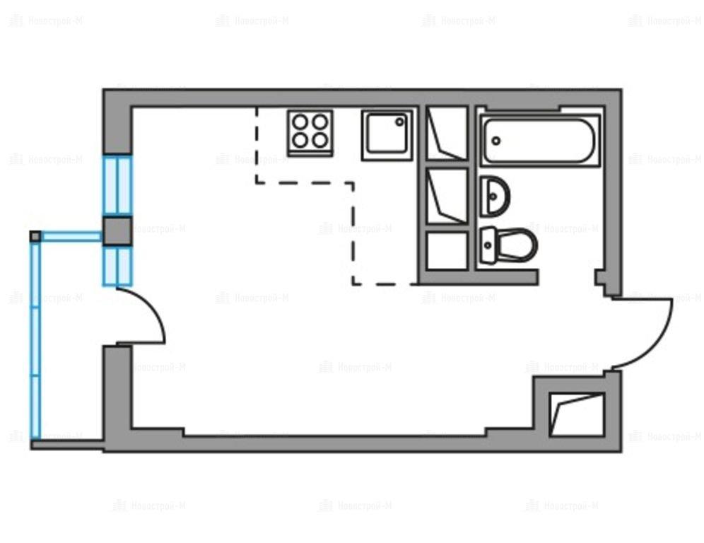 Купить  квартиру в новостройке Долгопрудный, микрорайон Гранитный - World Real Estate Service «PUSH-KA», объявление №6027