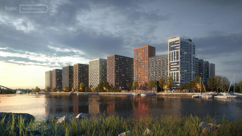 Продаётся 1-комнатная квартира в новостройке 37.0 кв.м. этаж 3/14 за 7 990 000 руб