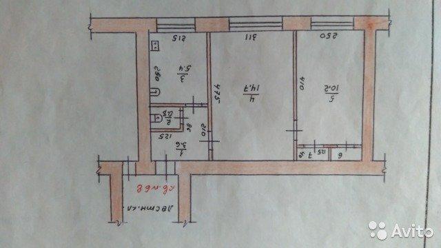Продаётся 2-комнатная квартира 36.0 кв.м. этаж 2/2 за 750 000 руб