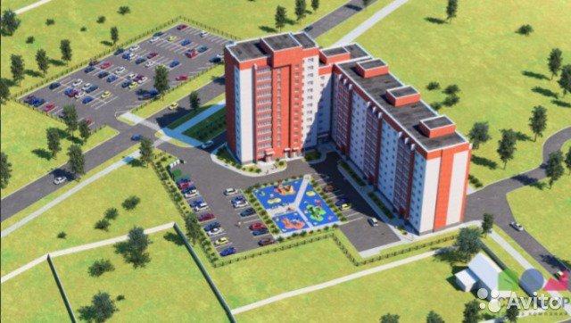 Продаётся 1-комнатная квартира в новостройке 36.3 кв.м. этаж 2/9 за 2 500 000 руб