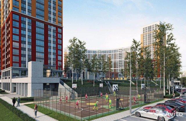 Продаётся 1-комнатная квартира в новостройке 32.1 кв.м. этаж 18/19 за 3 840 000 руб
