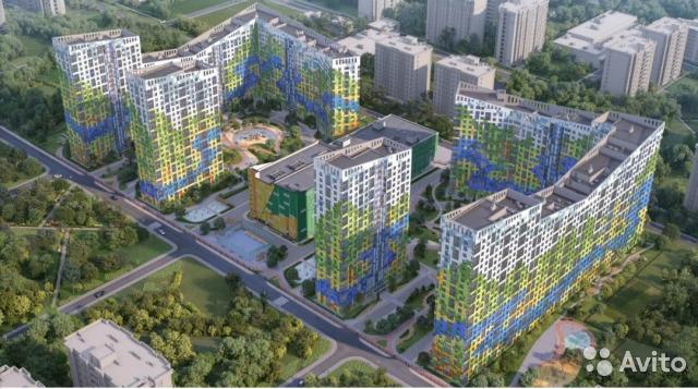 Продаётся 2-комнатная квартира в новостройке 56.2 кв.м. этаж 12/24 за 6 600 000 руб