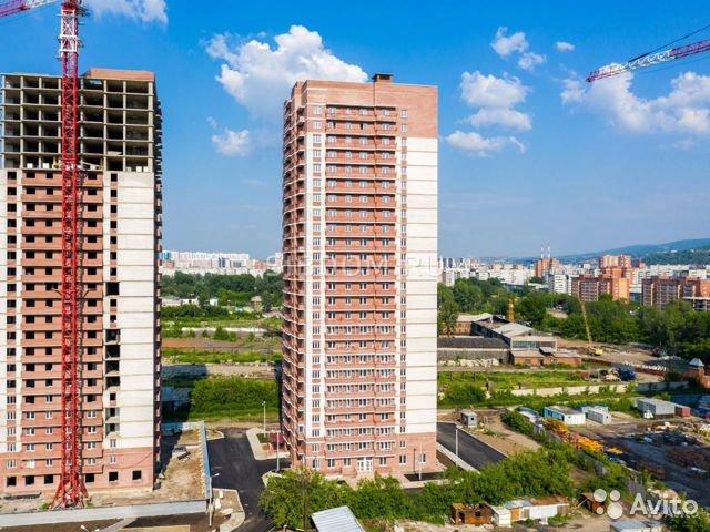 Продаётся 1-комнатная квартира в новостройке 38.0 кв.м. этаж 25/25 за 1 550 000 руб