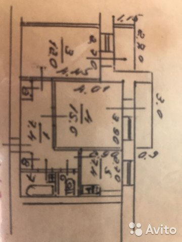 Сдаётся 2-комнатная квартира 55.0 кв.м. этаж 9/9 за 25 000 руб