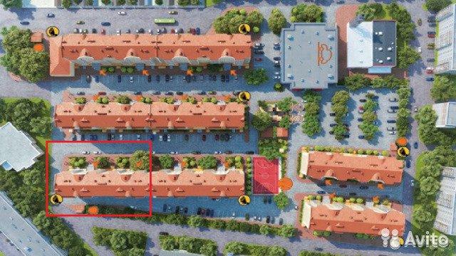 Продаётся 1-комнатная квартира в новостройке 40.0 кв.м. этаж 9/10 за 3 400 000 руб