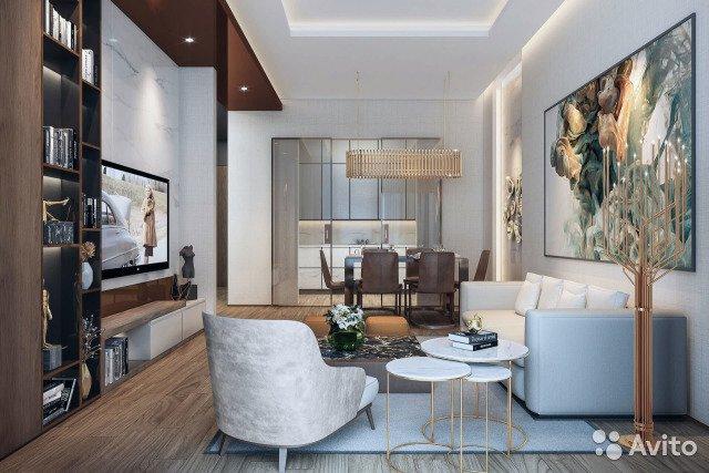 Продаётся 2-комнатная квартира в новостройке 65.0 кв.м. этаж 48/68 за 26 500 000 руб