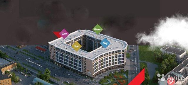 Продаётся 1-комнатная квартира в новостройке 22.3 кв.м. этаж 8/11 за 2 950 000 руб