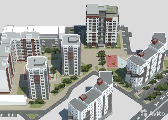 Продаётся 2-комнатная квартира в новостройке 52.1 кв.м. этаж 14/16 за 2 500 000 руб