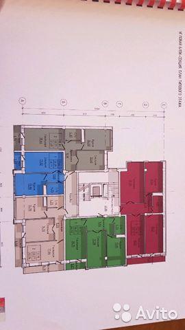 Продаётся 1-комнатная квартира в новостройке 42.0 кв.м. этаж 3/9 за 798 000 руб