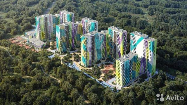 Продаётся 1-комнатная квартира в новостройке 28.0 кв.м. этаж 21/25 за 3 970 777 руб
