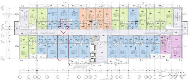 Продаётся  квартира в новостройке 25.0 кв.м.  за 1 989 999 руб