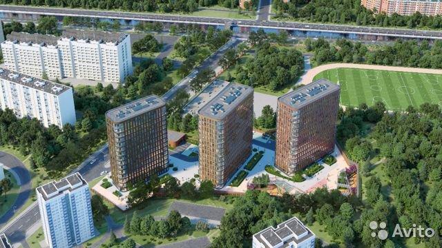 Продаётся 2-комнатная квартира в новостройке 70.0 кв.м. этаж 14/15 за 18 500 000 руб