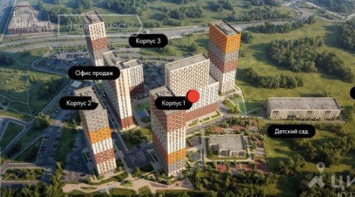 Продаётся  квартира в новостройке 21.0 кв.м.  за 3 850 000 руб