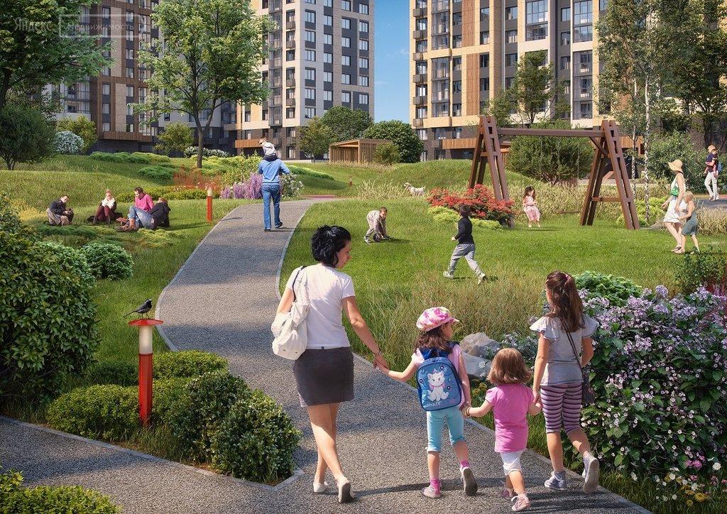 Купить однокомнатную квартиру в новостройке деревня Столбово, жилой комплекс Южное Бунино - World Real Estate Service «PUSH-KA», объявление №1474