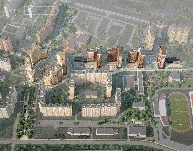 Купить двухкомнатную квартиру в новостройке Долгопрудный, микрорайон Центральный, жилой комплекс Центральный - World Real Estate Service «PUSH-KA», объявление №1471