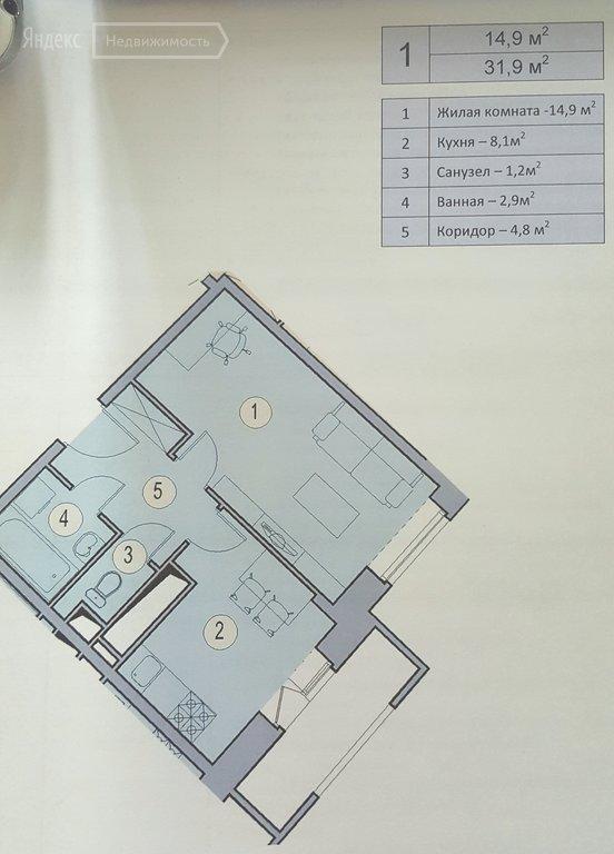 Купить однокомнатную квартиру в новостройке Химки, Транспортный проезд, 5 - World Real Estate Service «PUSH-KA», объявление №1513