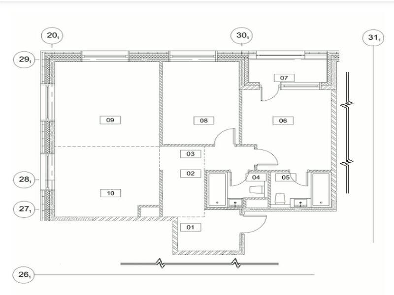 Продаётся 3-комнатная квартира в новостройке  этаж 2/19 за 19 375 150 руб