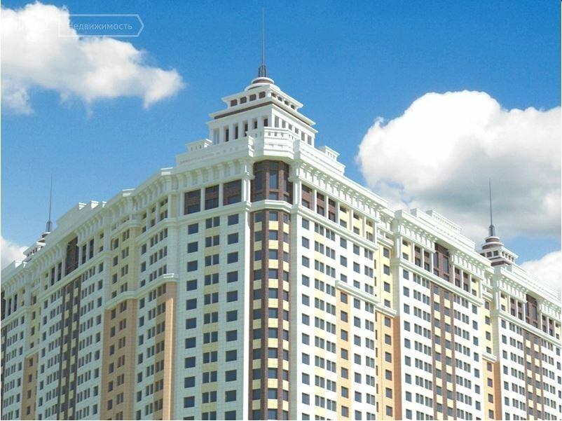 Продаётся 2-комнатная квартира в новостройке 60.0 кв.м. этаж 6/25 за 4 500 000 руб
